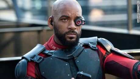 "Will Smith plays Deadshot in ""Suicide Squad."""
