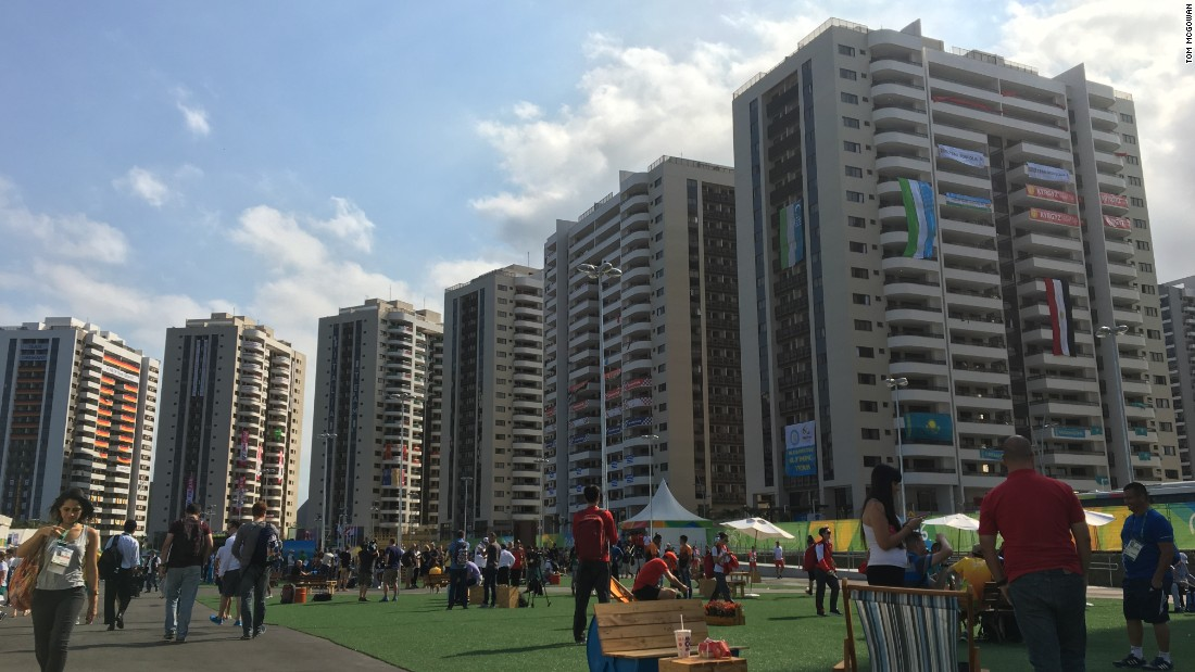The Athletes' Village, where the soon-to-be heroes of Rio 2016 will stay for the Olympic Games.