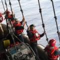 Reagan boat crew