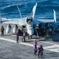 USS Reagan flight deck