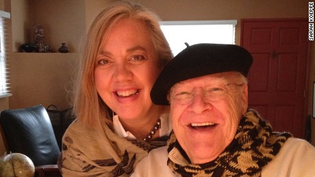 David Huddleston and his wife Sarah Koeppe.