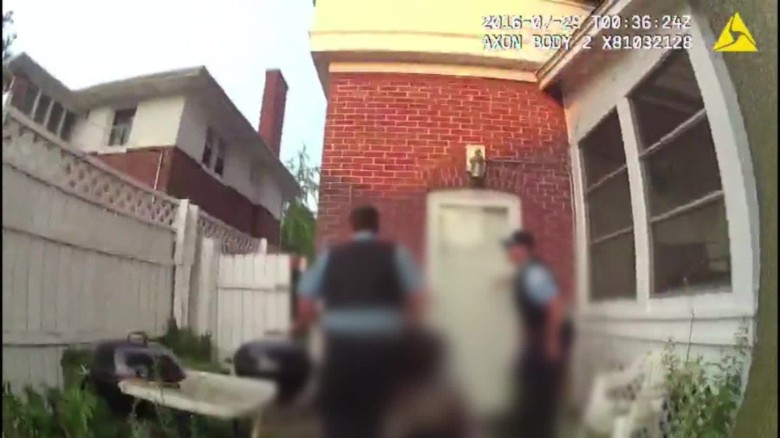 Video from Chicago shooting of unarmed man released