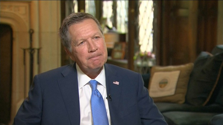 Kasich: I wish I could be enthusiastic about election