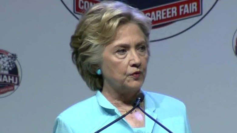 Hillary Clinton attempts to clarify email statements