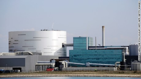 An incinerator in Fos-sur-Mer in the south of France display a more conventional approach to industrial design.