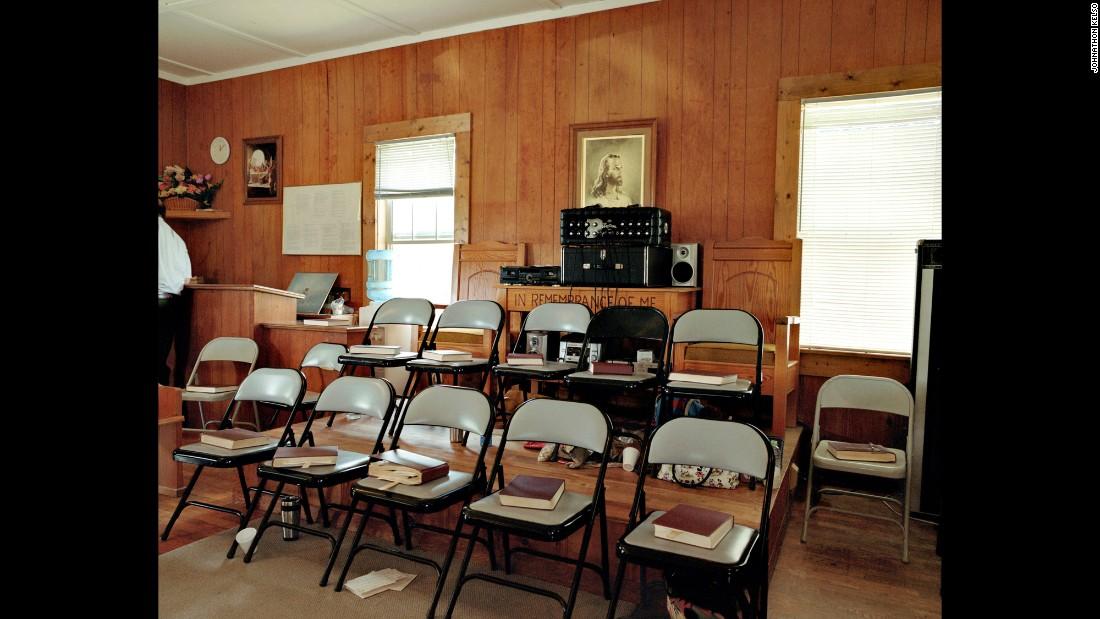 A singing area in Ider, Alabama.