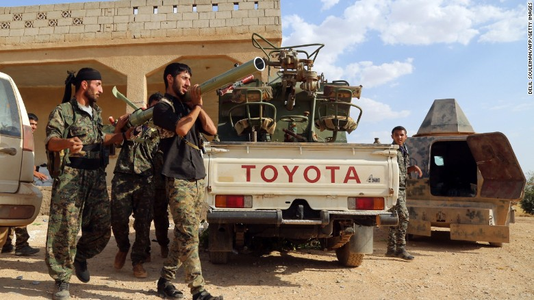 Report: Syrian rebels making progess in Manbij