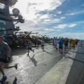 Navy crew 5K USS Ronald Reagan