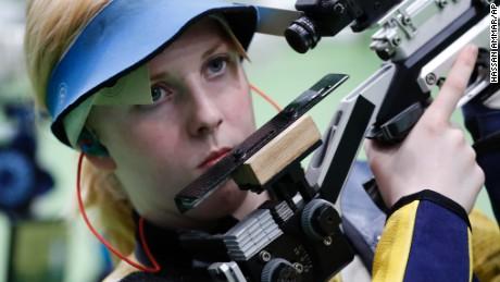 U.S. teen Ginny Thrasher wins Rio's first gold