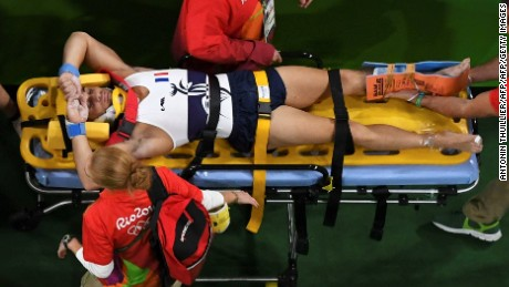 The most common injury at the Olympics