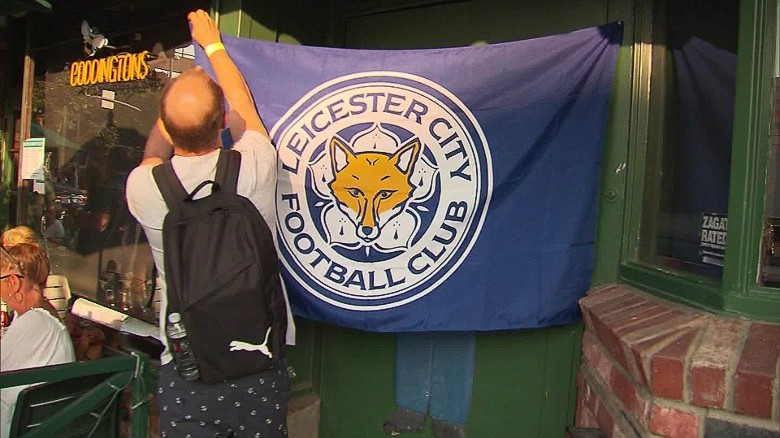 leicester city new season preps hollywood riley pkg_00032101