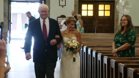 IYW Heart transplant helps decesased father be at wedding TRND_00004928