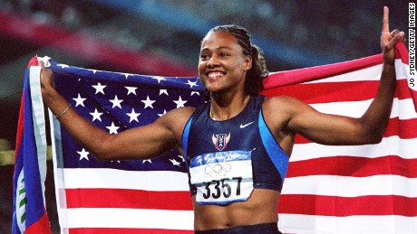 Marion Jones won five medals at the 2000 Sydney Games.