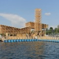 floating wooden pavilion 2