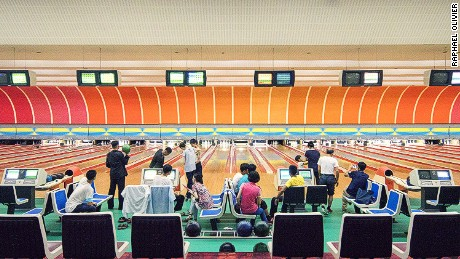 Golden Lane Bowling Alley, Pyongyang