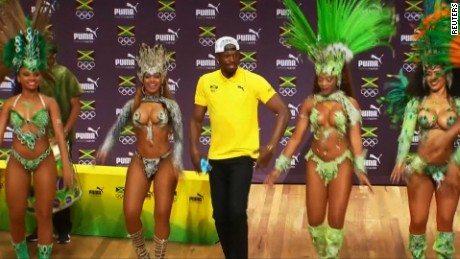 OLYMPICS-RIO-ATHLETICS/BOLT PRESSER  Samba dancing Bolt relaxed about 100 metres before Olympic showdown    Date08/08/2016 21:01  Duration00:05:59  Edit No1295  Copyright(c) Copyright Thomson Reuters 2016. Open For Restrictions - http://about.reuters.com/fulllegal.asp  RestrictionsBroadcasters: NONE Digital: NONE . For Reuters customers only.  Source FormatHD  AudioNATURAL WITH ENGLISH SPEECH  LocationsRIO DE JANEIRO, BRAZIL  SourceReuters  Revision2  TopicsOlympics,Sport  Source News FeedsSports  IDtag:reuters.com,2016:newsml_WD4U9PYKF:2