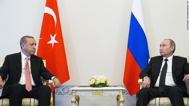 Putin hosts Erdogan for talks