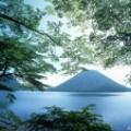japan mountain day Lake Haruna