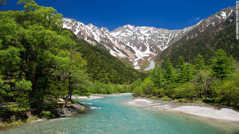 Japan's most beautiful mountains