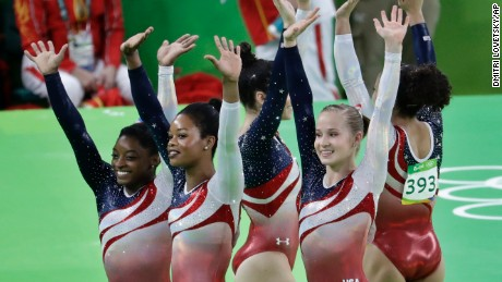 Team USA's memorable gymnastics squads and their stars