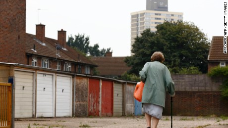 The surrounding borough of Newham is among the most deprived in London.