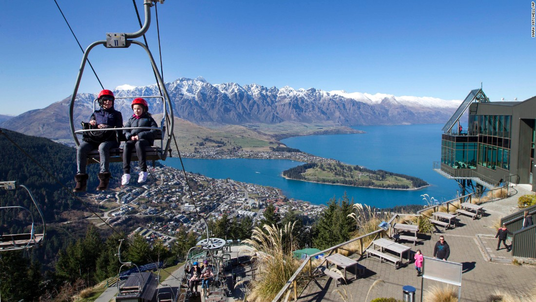In New Zealand's Queenstown, the aptly named Remarkables mountain range sweeps down to Lake Wakatipu. With natural assets like these, it's unsurprising there are lots of adventure sports on offer. <br />