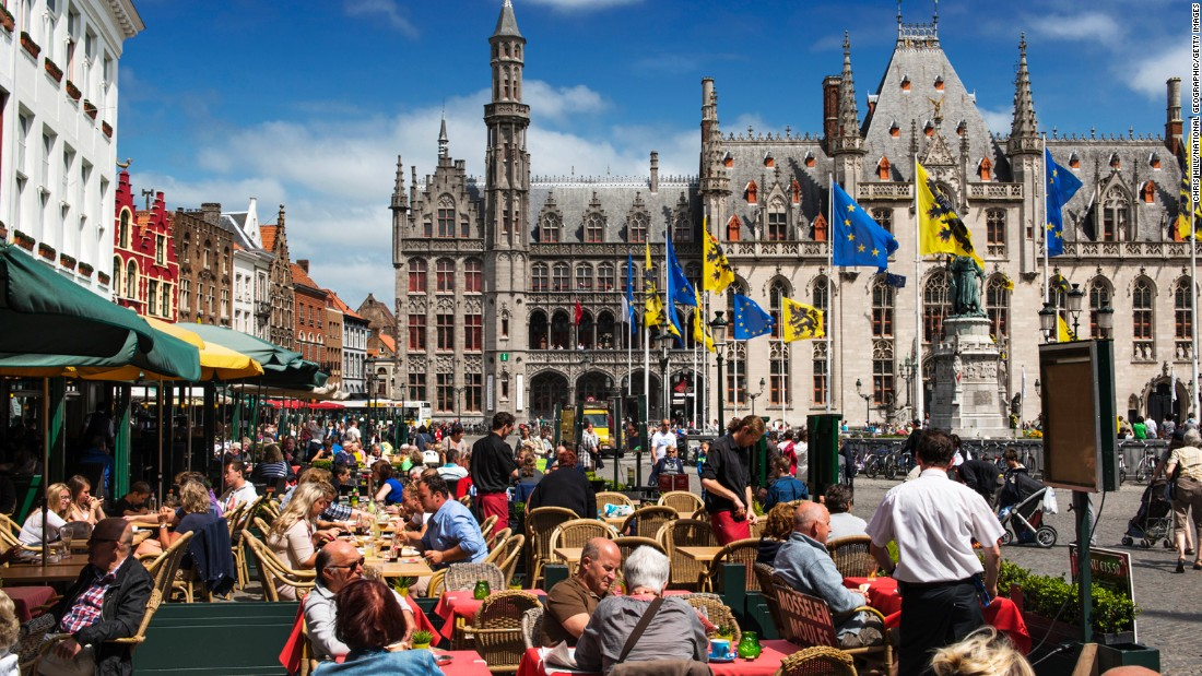 With some of the world's best chocolate and beer, it's no wonder the people of Bruges are so friendly.