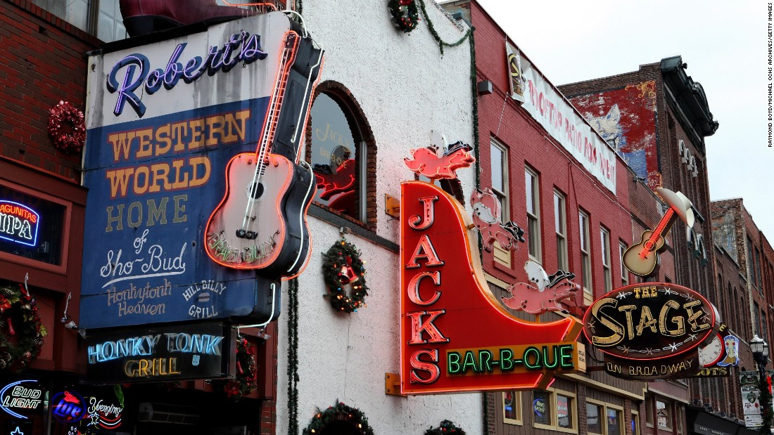 Nashville, Tennessee was named the world's 10th friendliest city in Conde Nast's Reader's Choice Awards 2016. It's known for its southern charm and being the home of country music.
