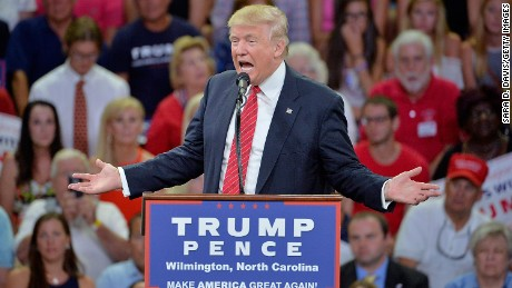 Donald Trump accuses Hillary Clinton of 'pay to play'