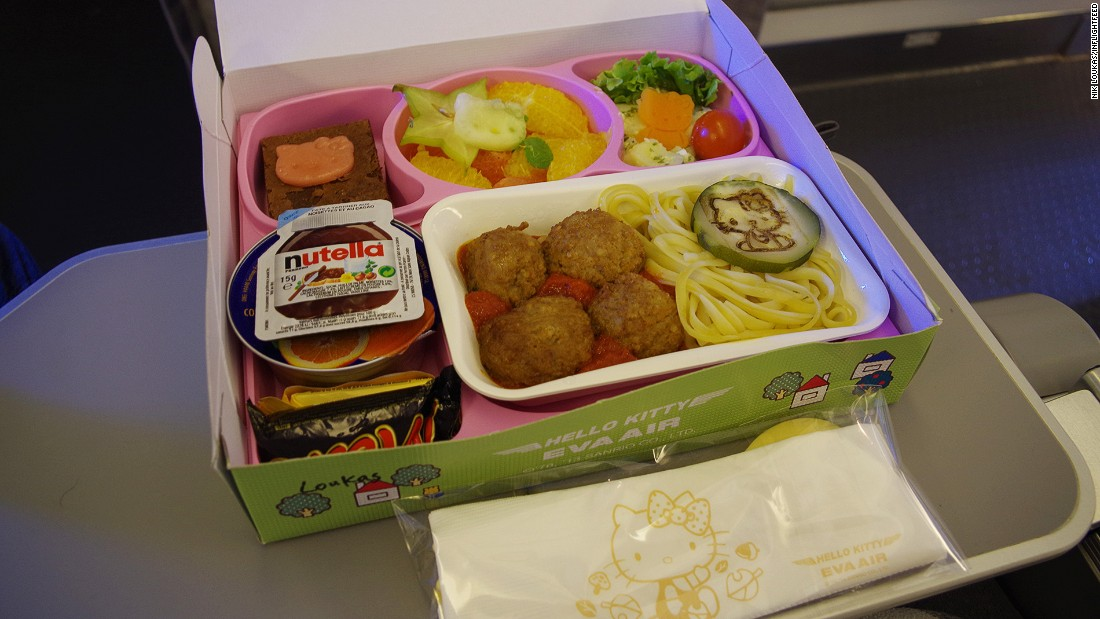 "It's a tie between Germany's Lufthansa and Taiwan's Eva Air. ""Lufthansa places a great emphasis on kids' meals and has a celebrity chef who creates the meals specifically for children. Eva Air has those amazing Hello Kitty kids meals on select flights, something that will totally keep kids entertained at meal time (and yes I've tried the meals!)."""