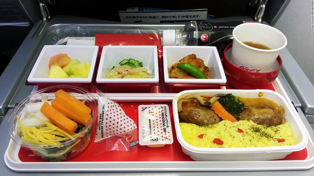 """Doesn't matter where in the world you may fly with these airlines, their in-flight meal quality and standard is always great, something that a lot of airlines find hard to do. Japan Airlines has teamed up with some great brands over the years to create some amazing economy-class meal experiences for passengers, like Mos Burger and the very strange KFC meal in-flight."""