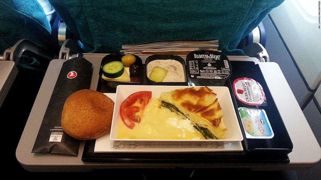 """Politics aside -- hands down Turkish Airlines. It really does have some of the best in-flight meals in the world,"" says Loukas. ""Its caterer Do & Co is known to create some of the best in-flight dishes in the world."""