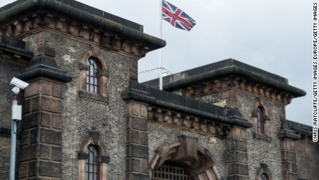 Wandsworth Prison is the UK's largest, currently able to hold 1,877 prisoners.
