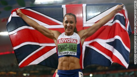 Jessica Ennis-Hill won World Championship gold and Olympic silver as a mum.