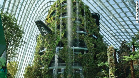 Cooled Conservatories, Gardens by the Bay, in Singapore.