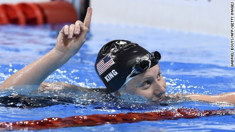 U.S. swimmer shows more courage than I.O.C. on doping