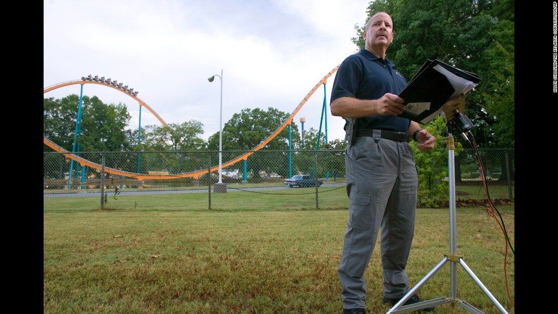 """A teen was <a href=""""http://www.cnn.com/2008/US/06/28/theme.park.fatality/index.html?iref=newssearch"""">decapitated</a> by the Batman roller coaster at Six Flags Over Georgia in 2008. He was struck by a train after he scaled two fences around the ride to retrieve his lost hat."""