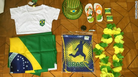 How much does it cost to become a true Brazil fan at the Olympics?