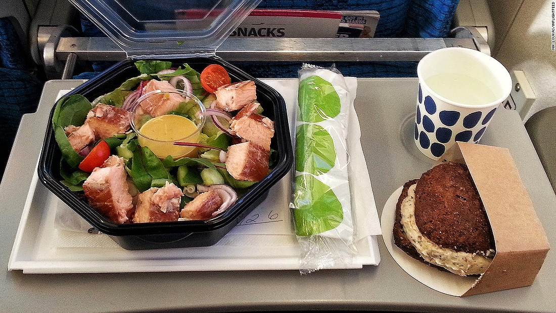 "In-flight meal choice can be unpredictable, especially in economy. ""Sometimes there is no choice whilst other times you can have up to four dishes to choose from. If choice is an issue for you, pre-order a special meal with the airline a few days before your flight."""