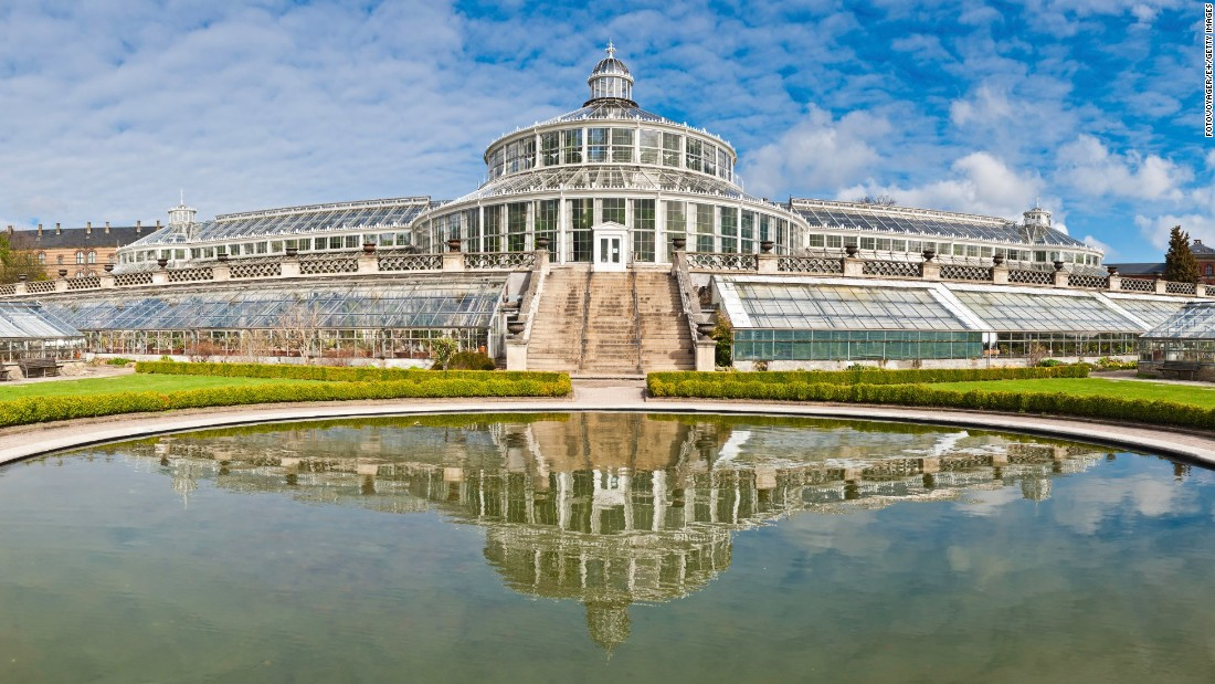 "Of the 27 glasshouses in <a href=""http://botanik.snm.ku.dk/english/"" target=""_blank"">Copenhagen's Botanical Garden</a>, the Palm House is the most famous. It was built by Carlsberg Breweries founder J. C. Jacobsen in 1874."