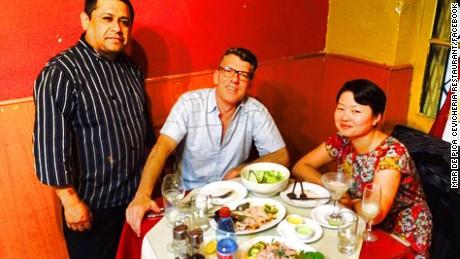 Pisco sours, seafood, an addictive leche de tigre and a mild earthquake.