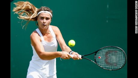 Was this British tennis player deliberately poisoned at Wimbledon?