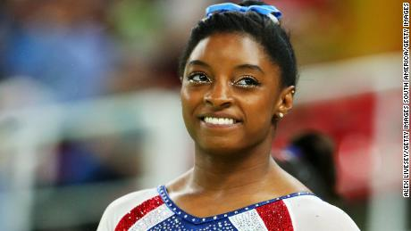 Simone Biles on her solo gold in Rio