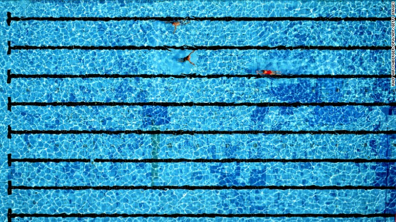 In at the deep end: why are swimming pools always blue?