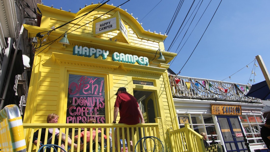 Cold-brewed coffee ice pops, donuts, pies and more lure sugar-seekers to Happy Camper, a Provincetown, Massachusetts, bakery that opened in 2015 alongside sister restaurant, the Canteen.