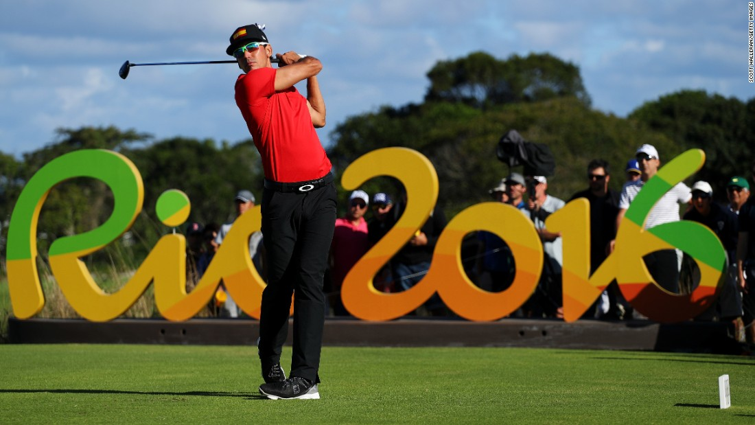 So it's not technically a first, but golf returned to the Olympic stage this year for the first time since 1904 (112 years is long enough for it to count).
