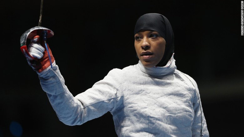 Muslim-American athelete makes history at the Olympics