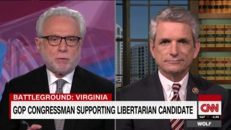 wolf intv rigell supports libertarian candidate not trump _00002115