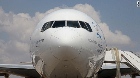 El Al looks to the map when naming its planes.