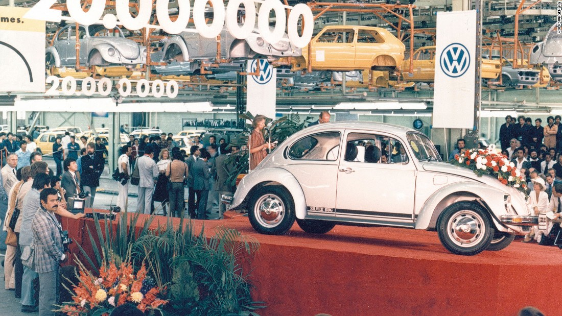 The original Volkswagen Beetle enjoyed considerable popularity outside of Europe, with strong sales in the United States and a factory in Mexico that continued building the car until 2003.